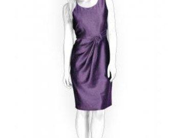 4294 personalizada vestido patrón  PDF coser