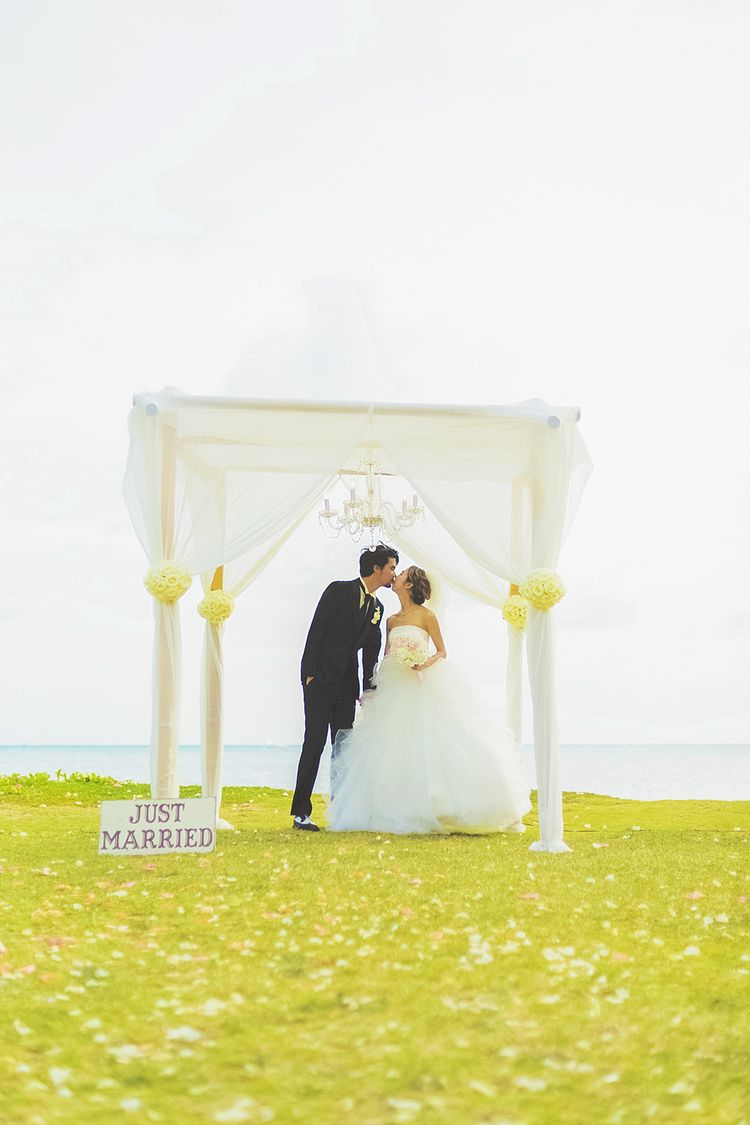 Location The Shores Of The Da Pink House Oahu Hawaii Wedding