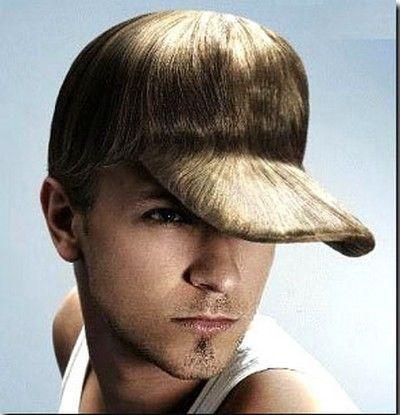 hat hair
