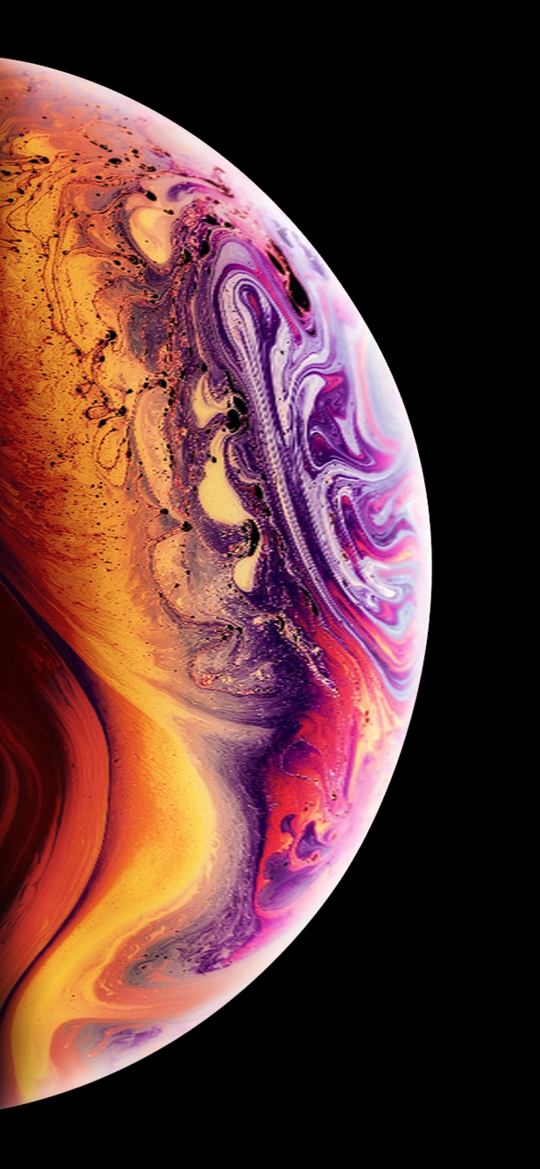 New Iphone Wallpaper For Iphone Xs Jpg 1 892 4 096 Pixels Galaxy Wallpaper Wallpaper Iphone Lukisan Galaksi