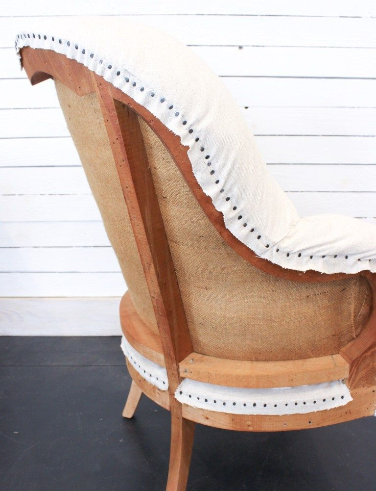 Deconstructed Chair: How I Deconstructed A Vintage Chair | Fletcher Creek Cottage