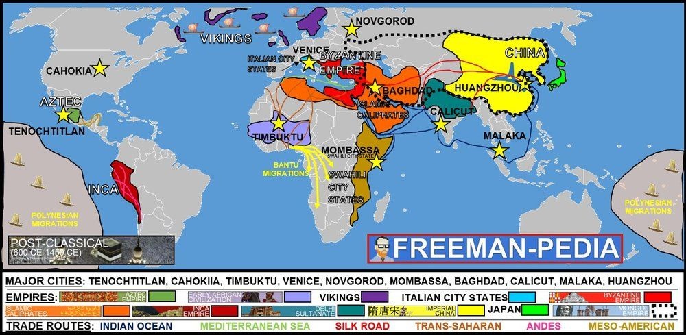 MAP.jpg Ap world history, Civil service exam, World history