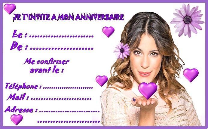 Violetta invitation grand modelg 692429 anniversaire pinterest violetta invitation grand modelg 692429 stopboris Gallery