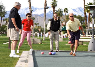 Bocce - fun, challenging and social.