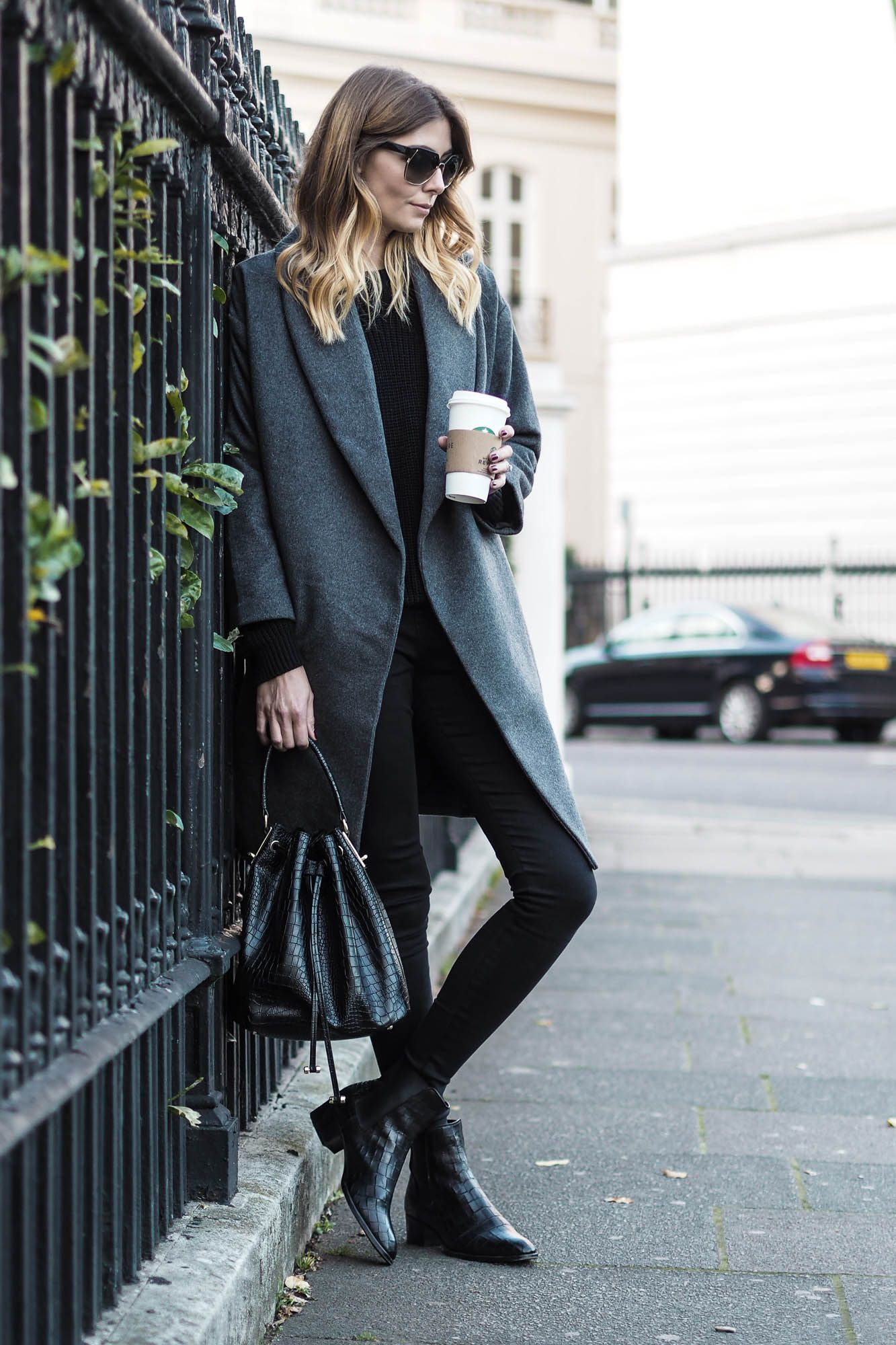 5cae76bfb93 One of my Autumn Winter essentials has to be a  Wrap Coat . There s just  something so cosy about a wrap coat. A good pair of black ankle boots is  also ...