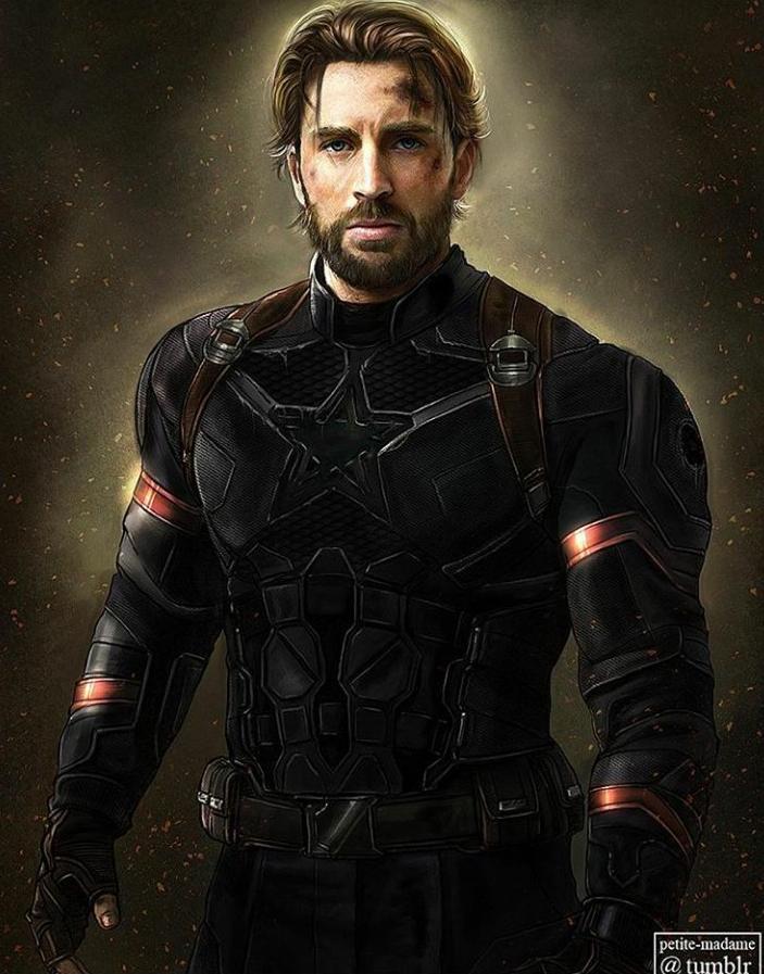 Steve Rogers Infinity War By Petite Medame Marvel Chris Evans