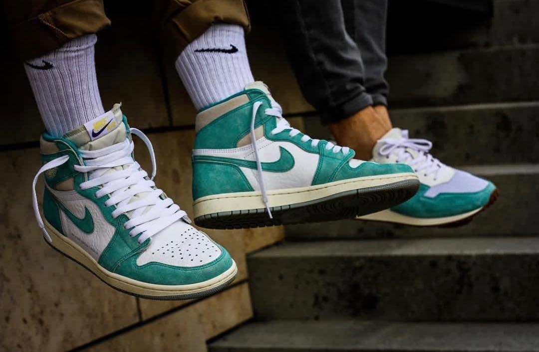 Nike Air Jordan 1 Turbo Green By Djenges089 Leafsteve
