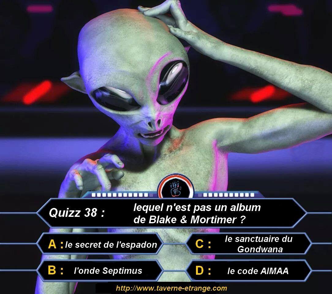 """Quizz 38 : Lequel n'est pas un album de """"Blake & Mortimer"""" ?"""