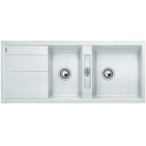 Blanco Metra 8 S Composite Granite 1.5 Bowl Inset Kitchen Sink ...