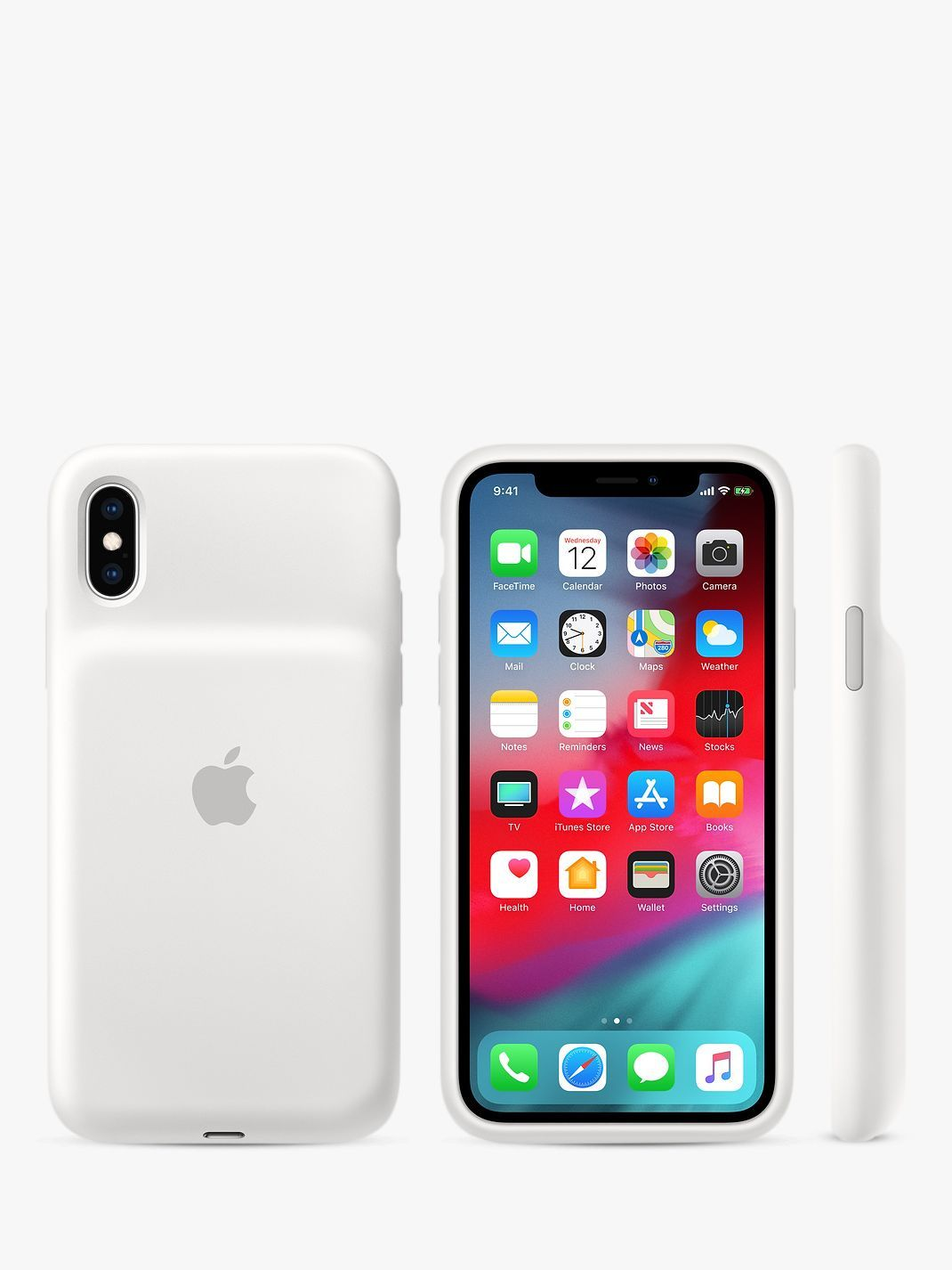 Apple smart battery case for iphone xs black iphone