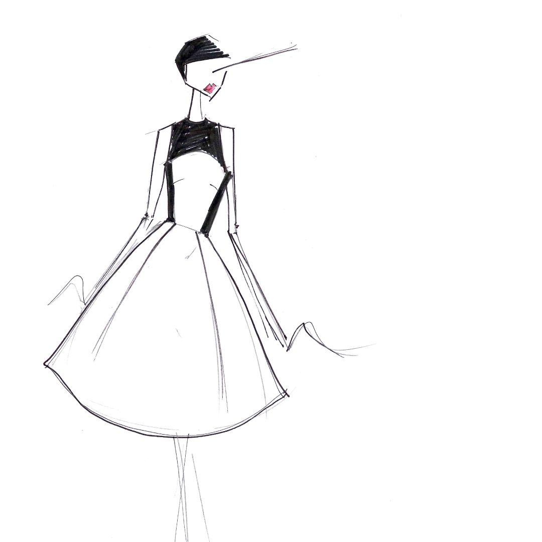 Feminine A-line shapes straight out of the Coast design studio...