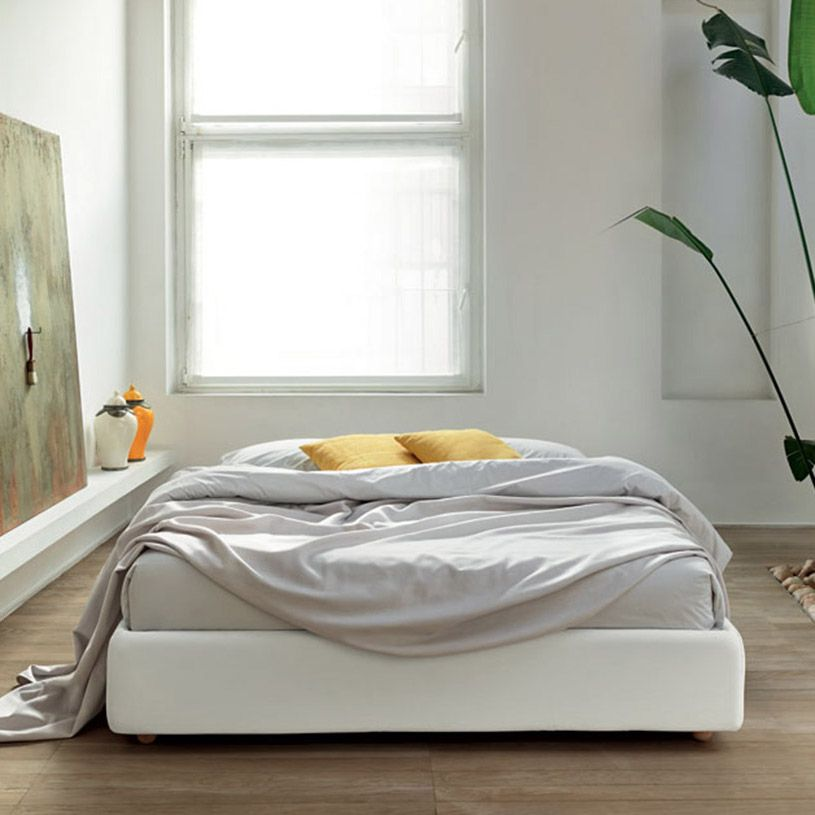 Frame Bed Without Headboard With Storage Bed Without Headboard
