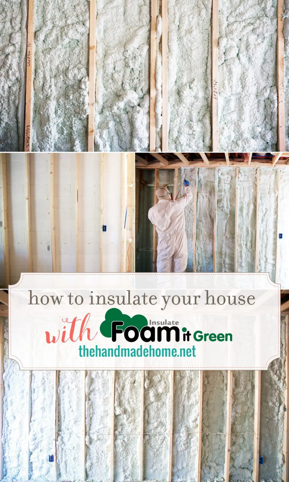 How To Use Spray Insulation - DIY Foam it Green in 2020 ...