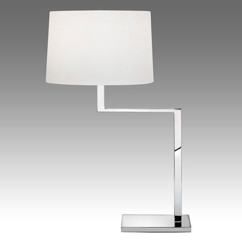 Thick thin table lamp nickel finish desk lamp and chrome thick thin table lamp aloadofball Gallery