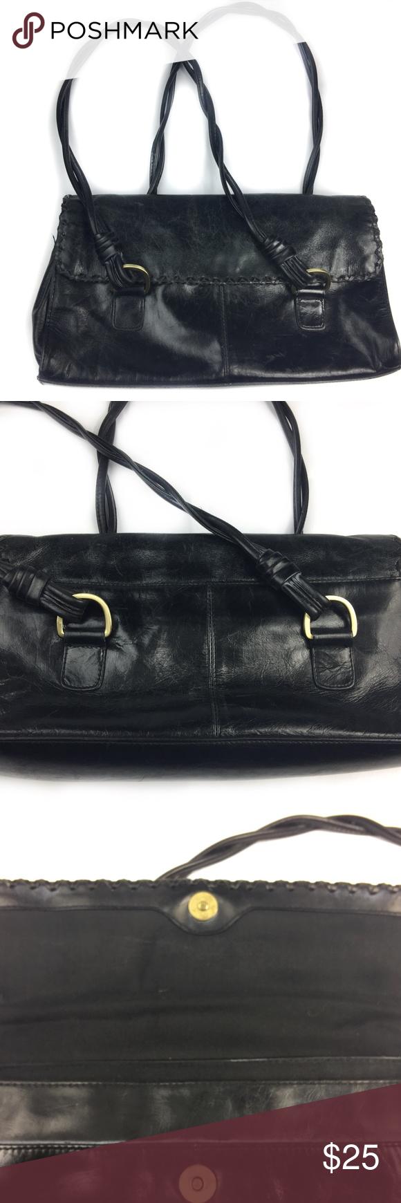 Worthington Black Women S Bag Purse Leather Lovely Used