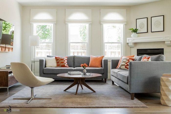 1001 + Ideen zum Thema: Welche Farbe passt zu grau ...