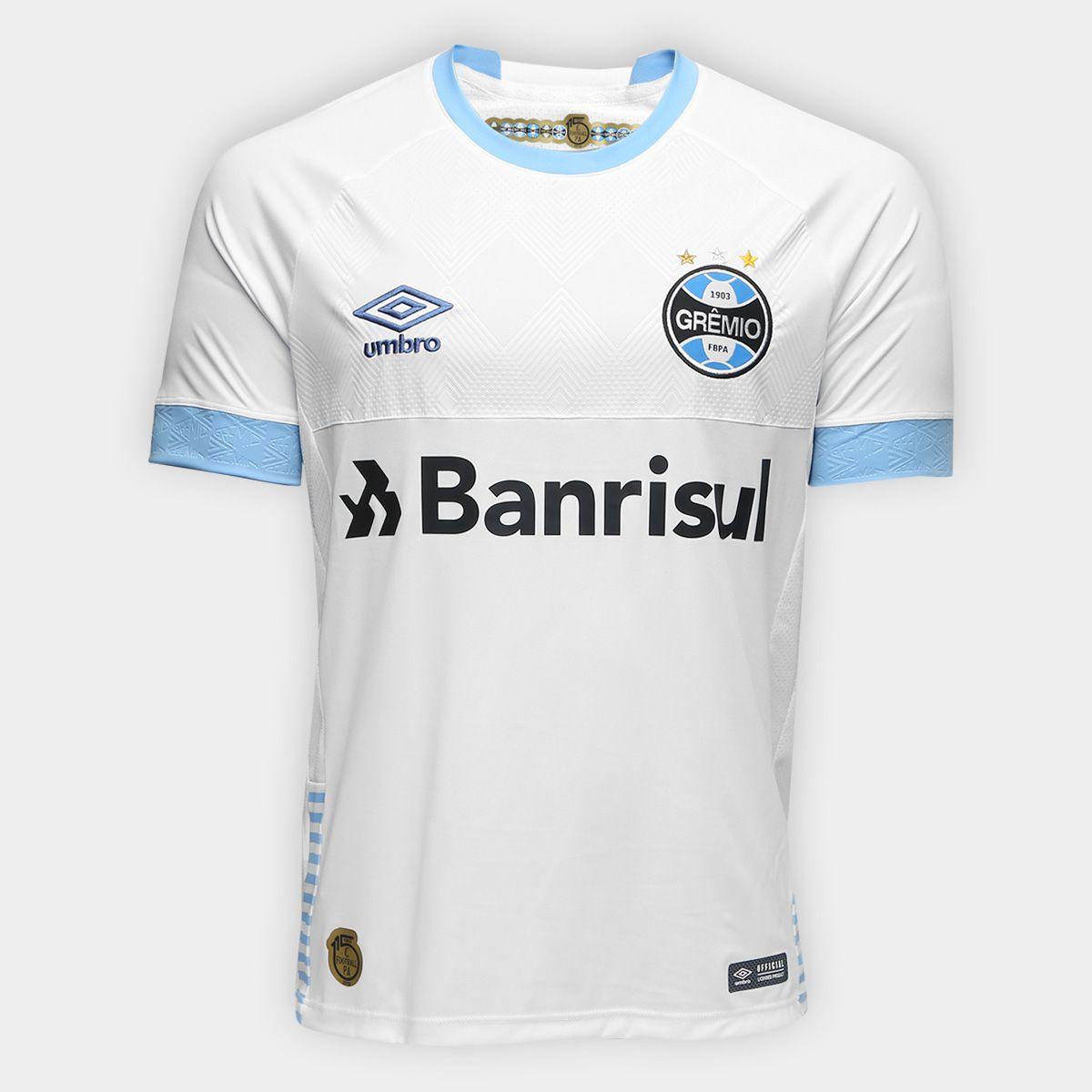 9756461a80391 Chegou a Camisa Grêmio II 2018 s n° Torcedor Umbro Masculina. O novo ...