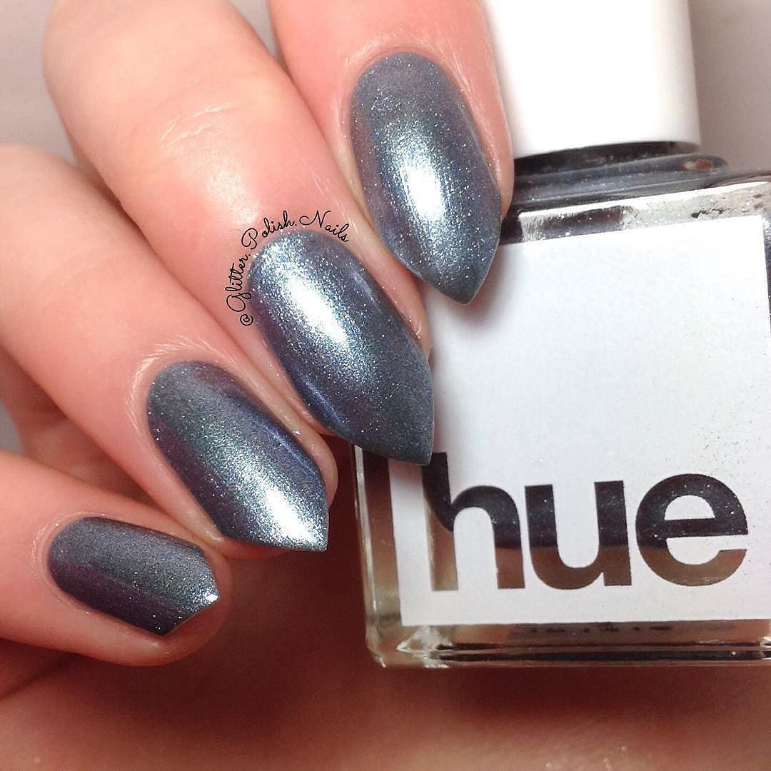 Golpe From The January 2017 Box A Beautiful Icy Blue Metallic Nail Polish Squarehue Subscription In For