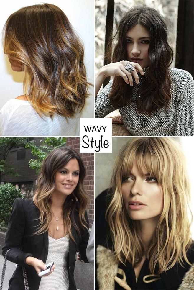 Tipos de ondas de cabello