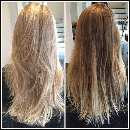 Frisuren Lange Haare Blonde Strähnen Dickes Haar 2018 Frisuren