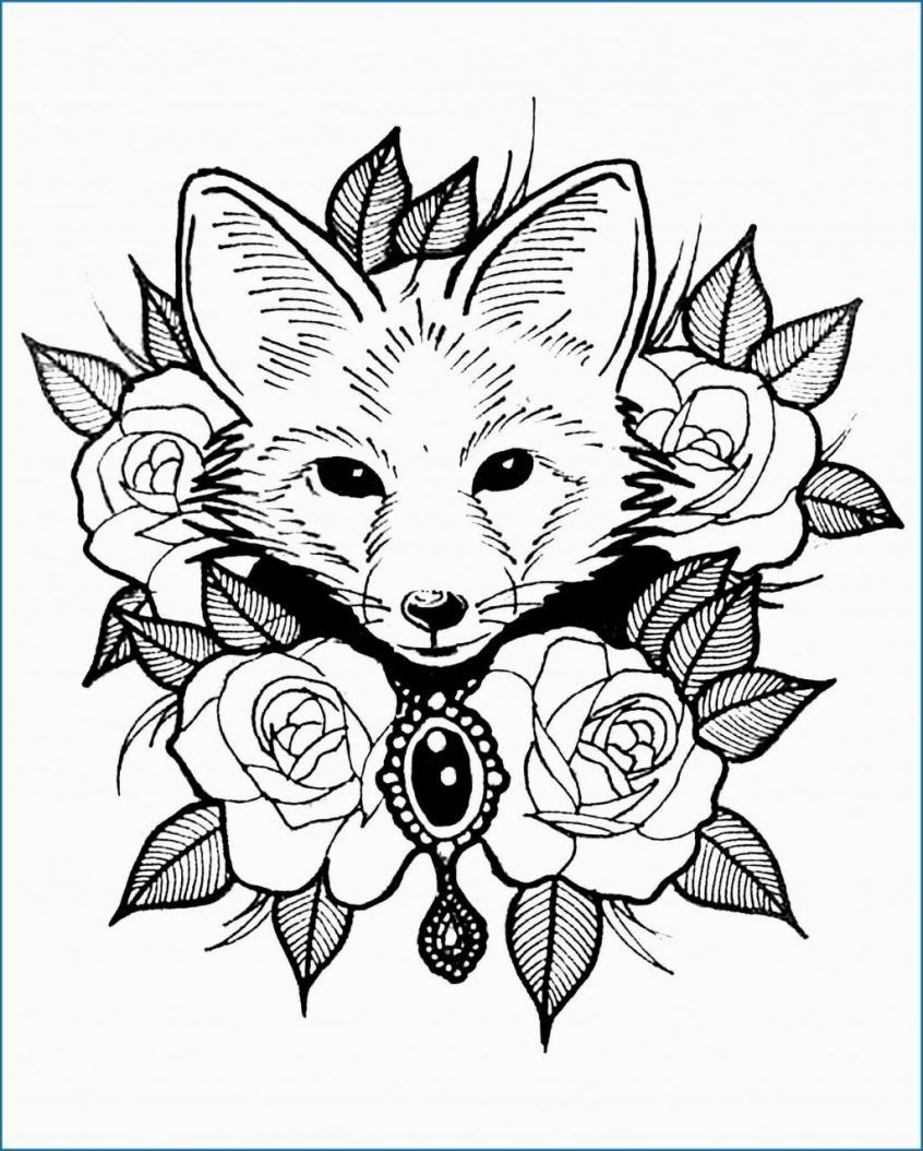 Realistic Animal Coloring Pages To Print Coloring Realistic Zoo Animals Coloring Pages Coffee Fox Coloring Page Zoo Animal Coloring Pages Animal Coloring Books