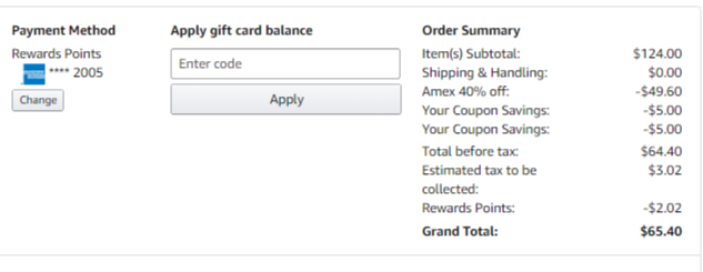 Hot If You Shop With Amazon Prime And Are An American Express Card Holder There Is A Hot Deal American Express Card American Express Credit Card Amex Rewards