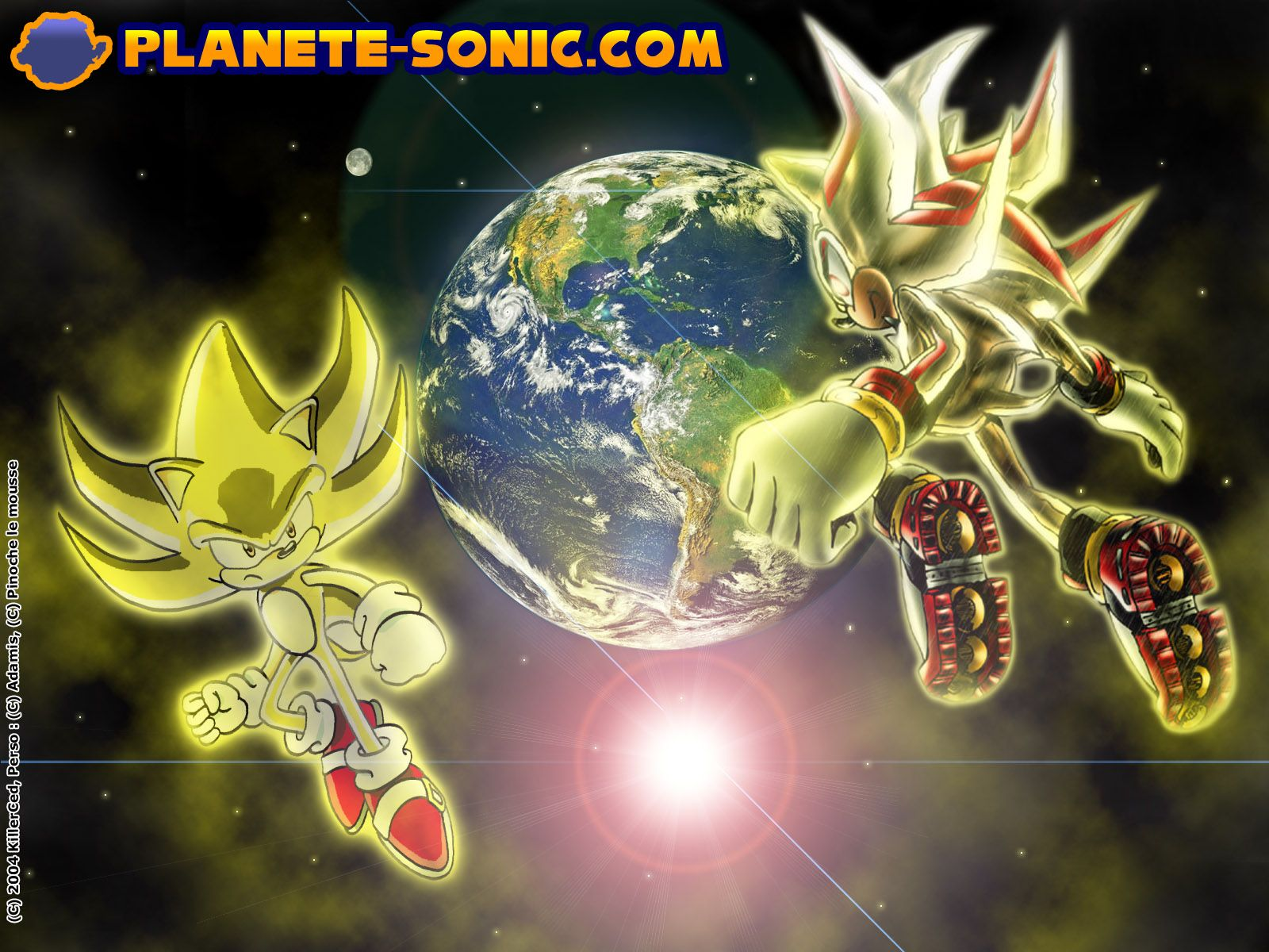 Video Game - Sonic the Hedgehog Super Shadow Super Silver Super Sonic  Wallpaper