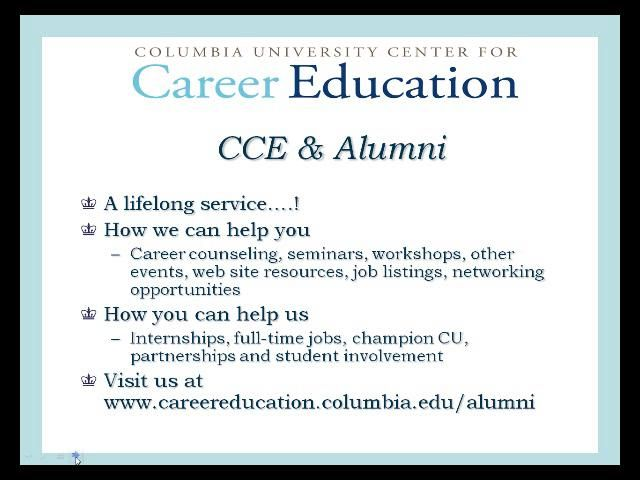 LinkedIn 101: Getting to Know the Basics. Video by Center for Career Education at Columbia University