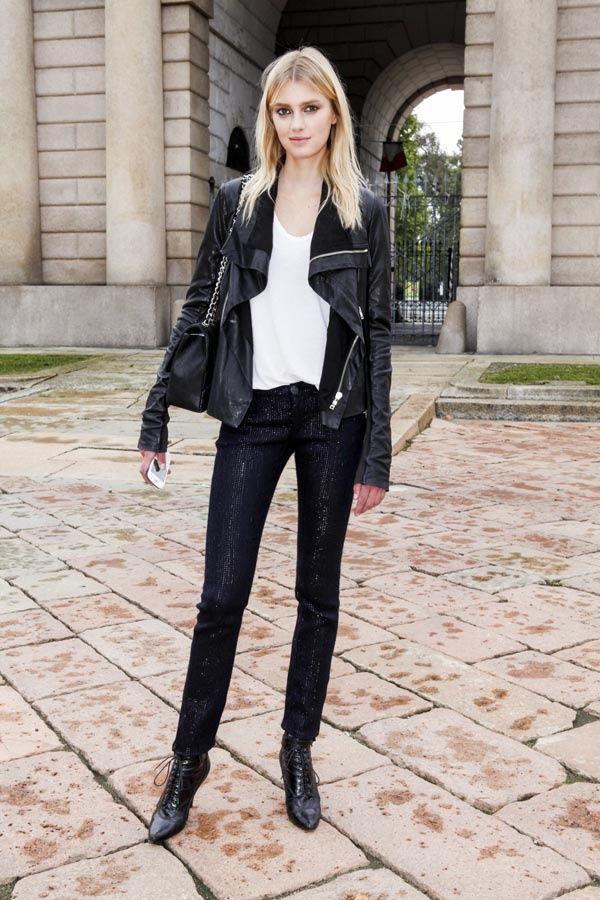 Obsesión Glamour El Look Desenfadado Y Urbano De Las Modelos