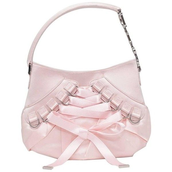 8932a6df3a1e1 Preowned Christian Dior Rose Pink Satin Lace-up Ballet Evening... ($640