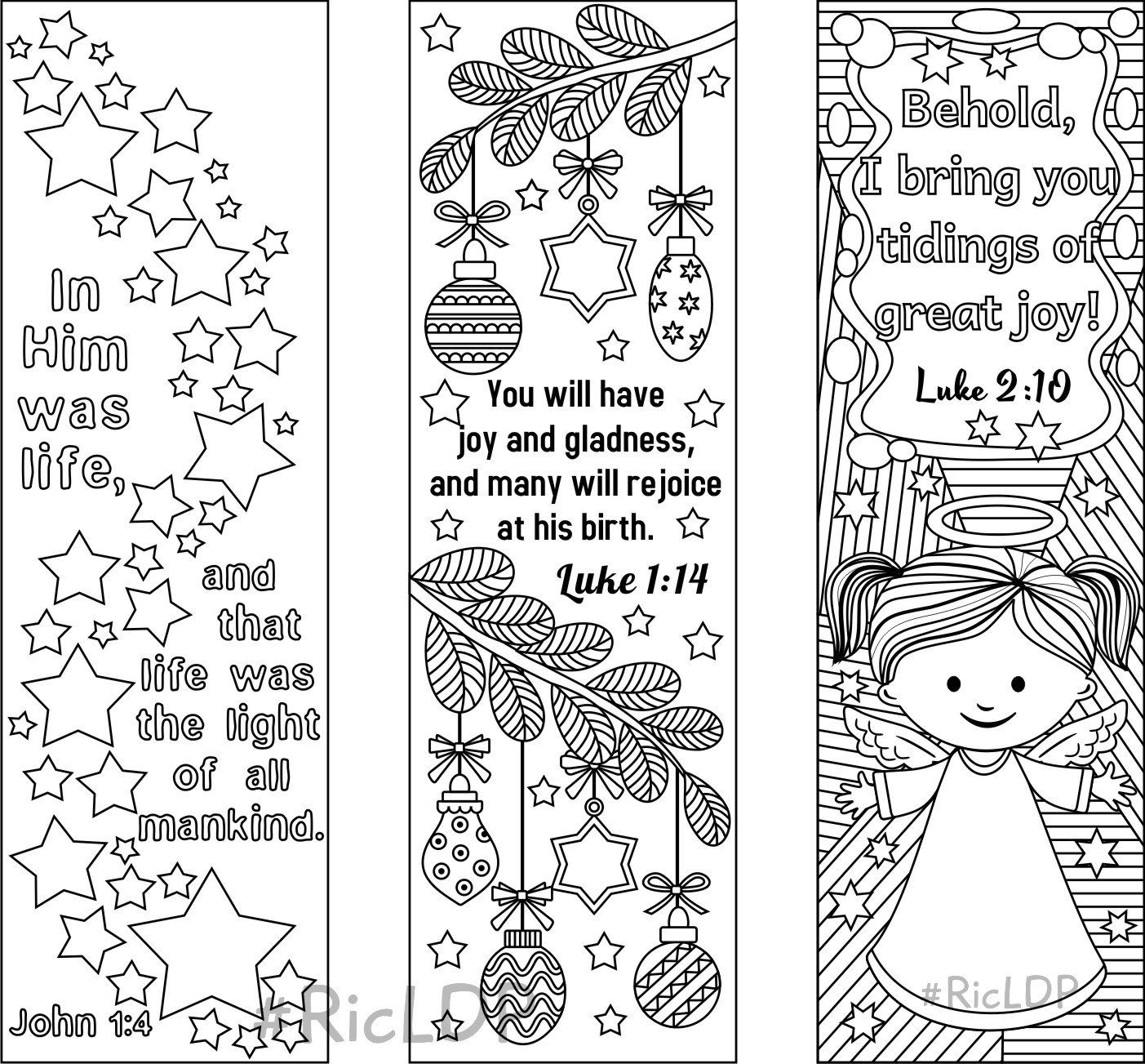 Christmas Coloring Pages With Bible Verses Designs Trend