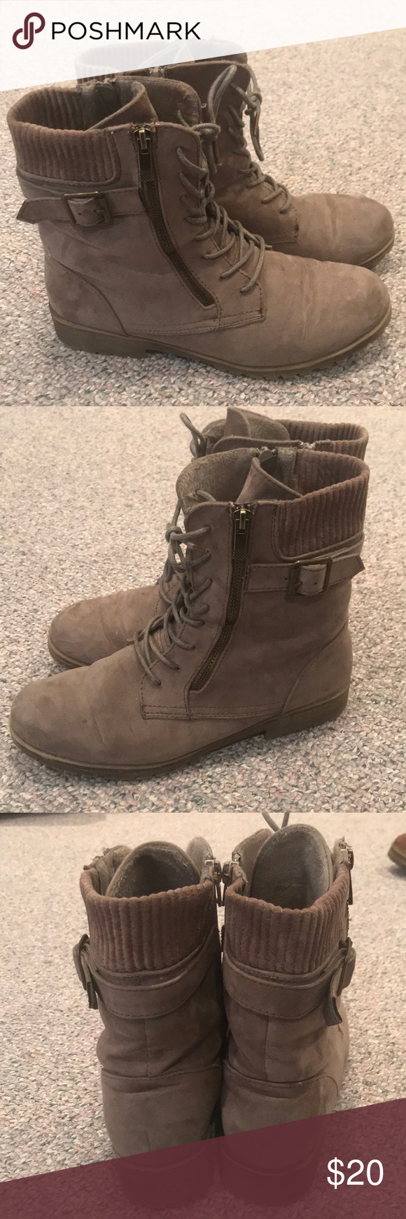 5e07ee5017c Echo Bay Warrior suede combat boot Good condition, only worn a ...