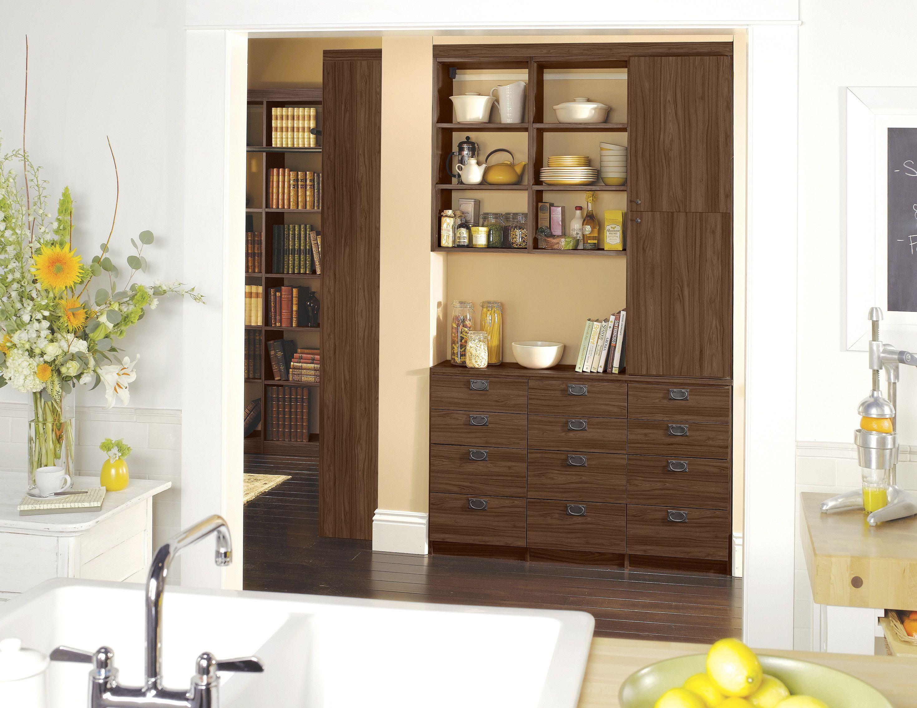 Kitchen Pantry California closets, Elegant