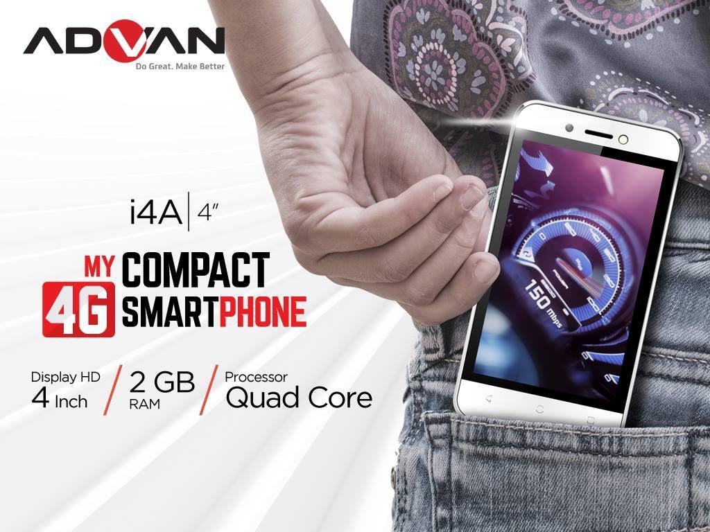 Advan i4A  produk baru  Android dan Produk