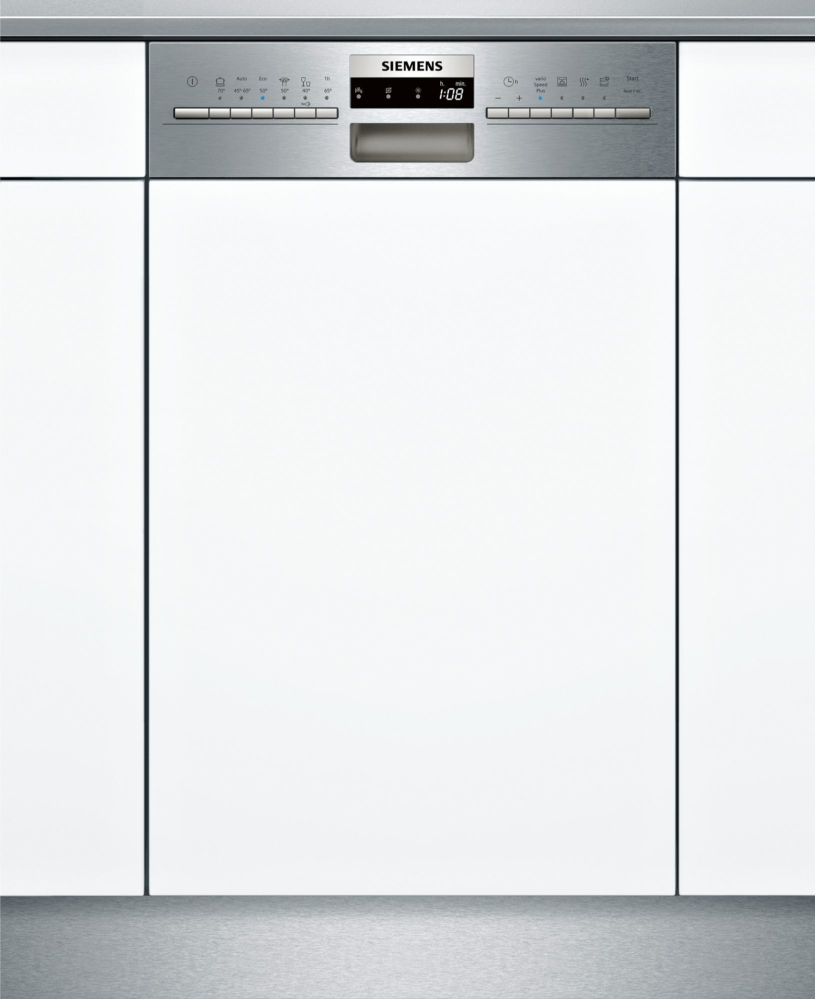 Siemens Iq300 Sr536s01me Dishwasher Semi Built In 10 Place Settings A 855 00 Siemens Https Bestbuycyprus Com Dis Cool Things To Buy Dishwasher Siemens