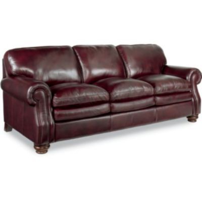 Montgomery Sofa By La Z Boy I Always Love A Classy Leather Sofa
