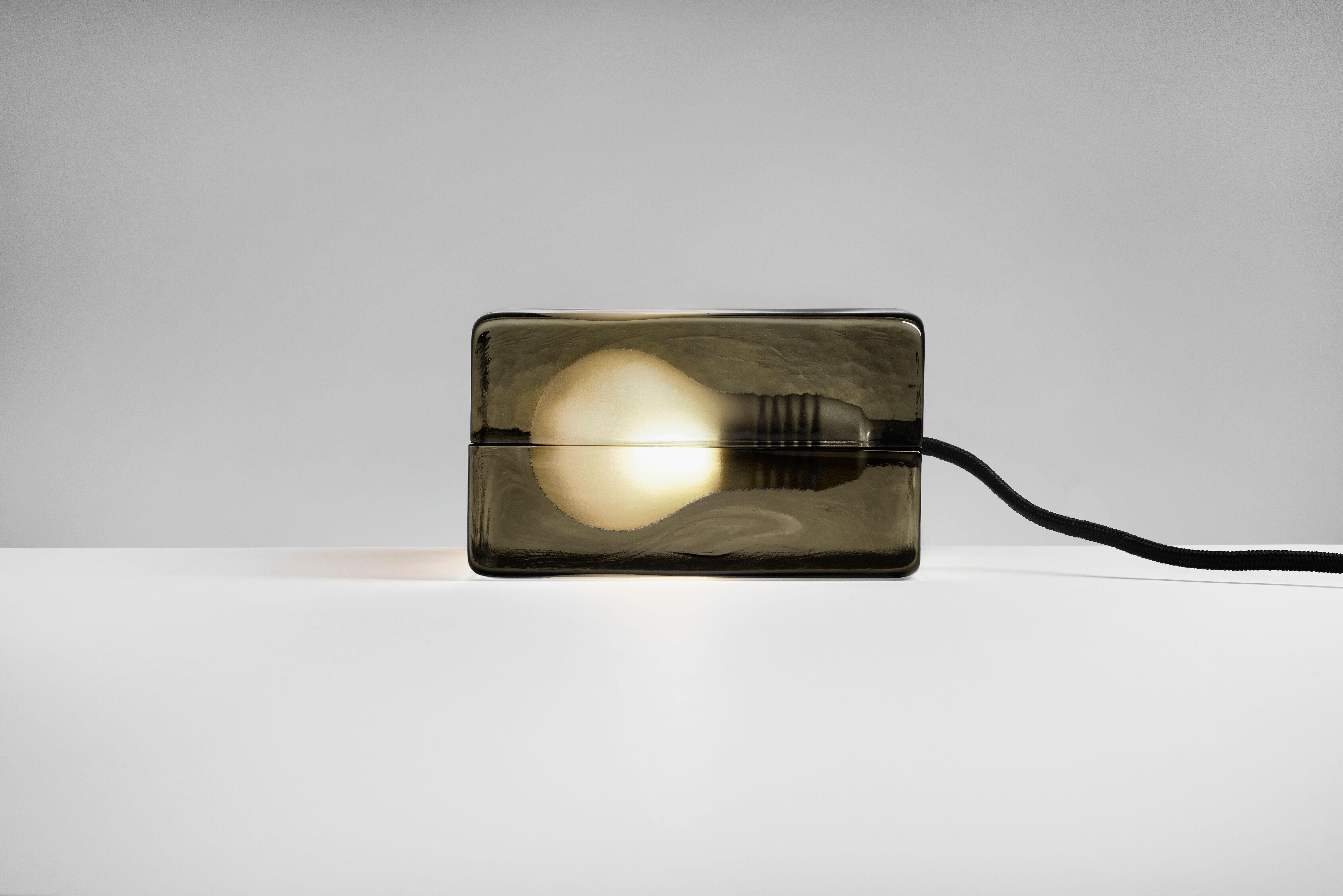 Block Lamp Designed By Harri Koskinen Lamp Design Lamp Led Light Bulb