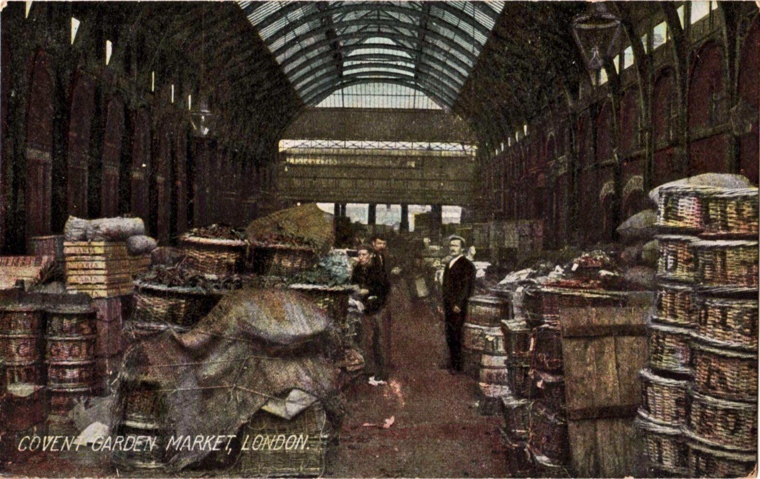 london706.jpg (1568×988) Covent garden, London, Postcard