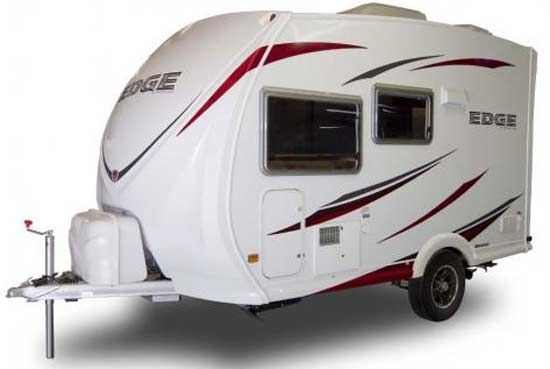 Ultra Lite Travel Trailers Heartland Edge Ultralite Travel Trailer Exterior Shorter Model