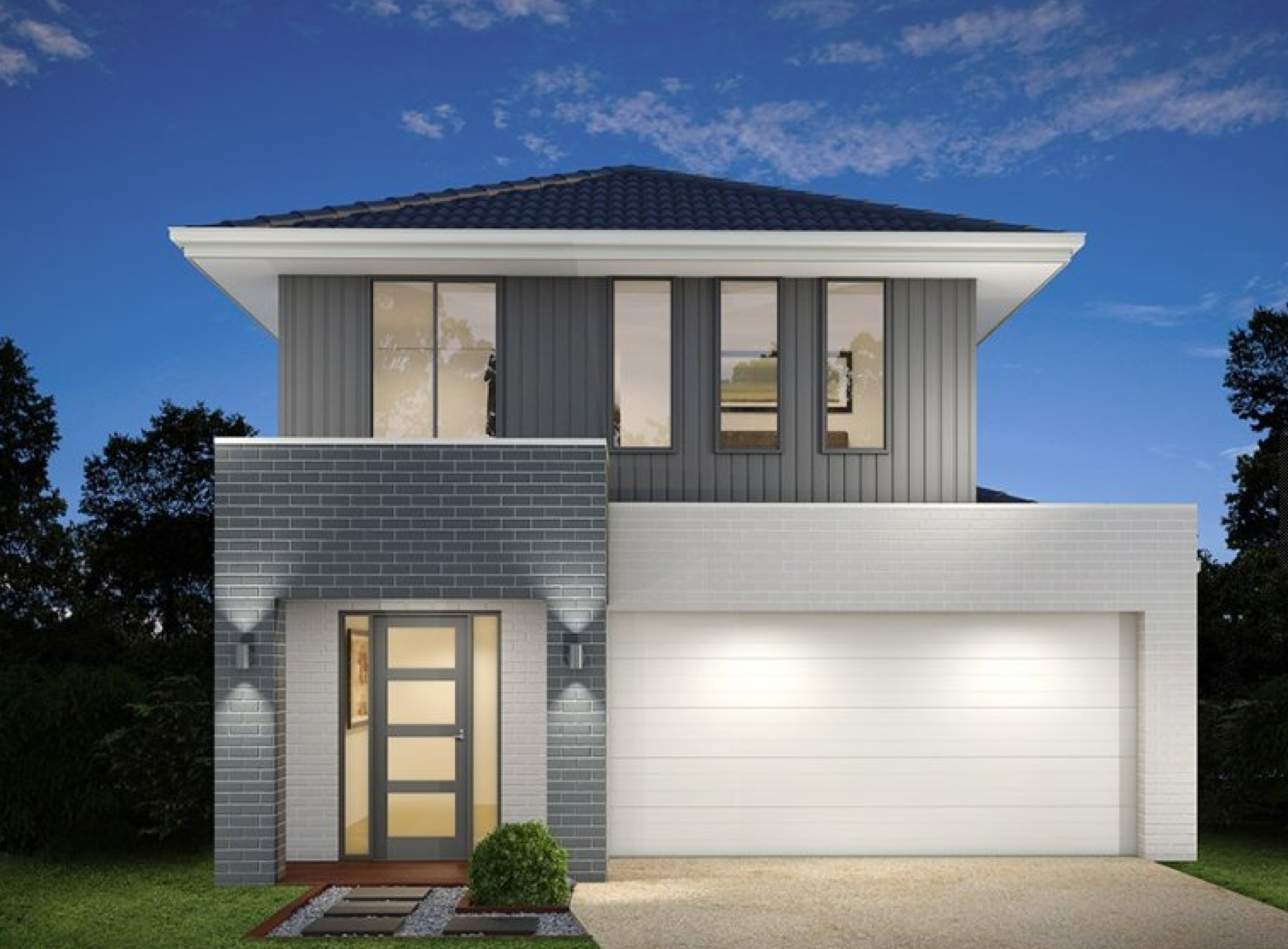 Marvelous New House U0026 Land Package   Example Of Facade