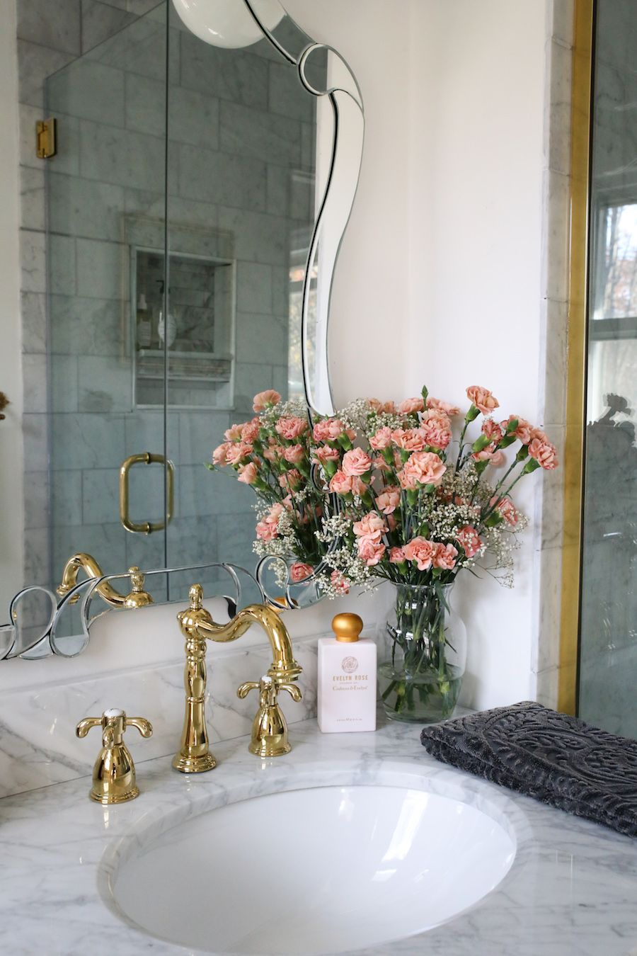 We See A Lot Of Bathroom Remodels But This One Takes The Cake Dream Home Design Pretty Bathrooms Beautiful Bathrooms French decorating ideas bathrooms