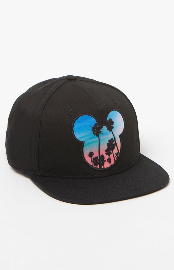 x Disney Palms Mickey Prime Snapback Hat  a0be14f7081
