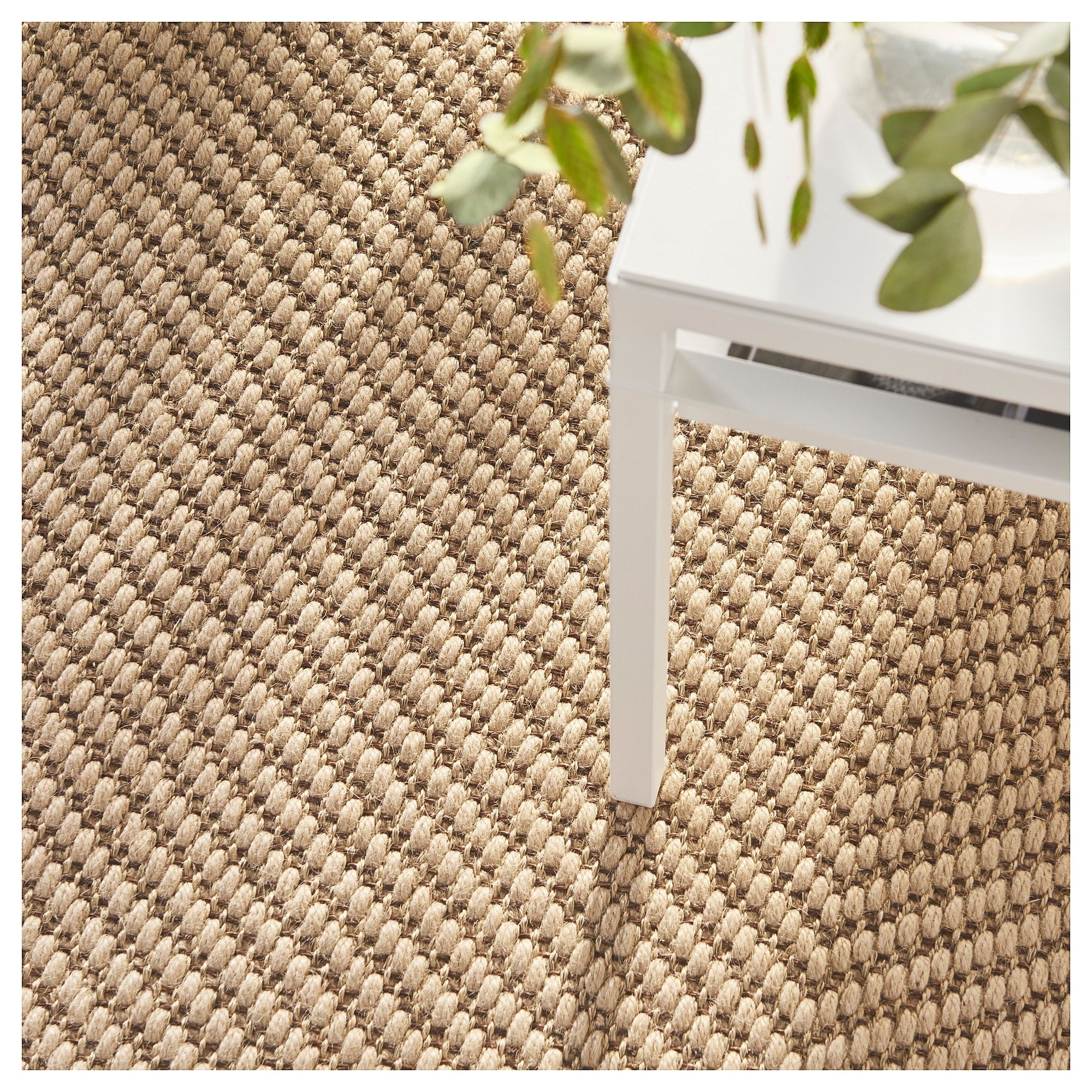 Ikea Ested Rug Flatwoven Natural