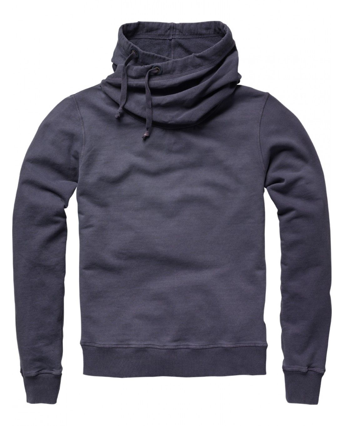 Twisted hooded sweater - Scotch & Soda Online Shop