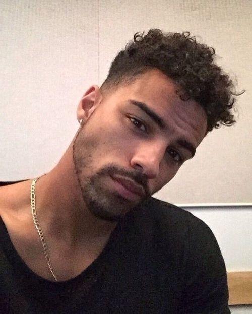 Black Guy Hairstyles Pinrei On Hair  Pinterest  Beautiful Boys