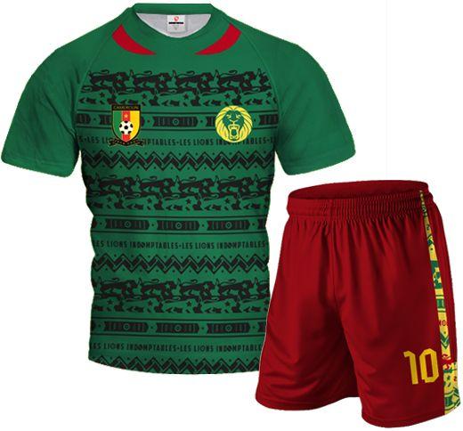 a4e8e43a9 CAMEROON 2014 15 Home Football Kit