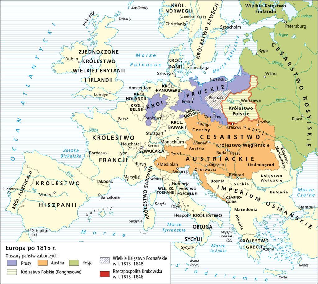 Poland 1815 1848 Maps Pinterest Historical Maps Poland