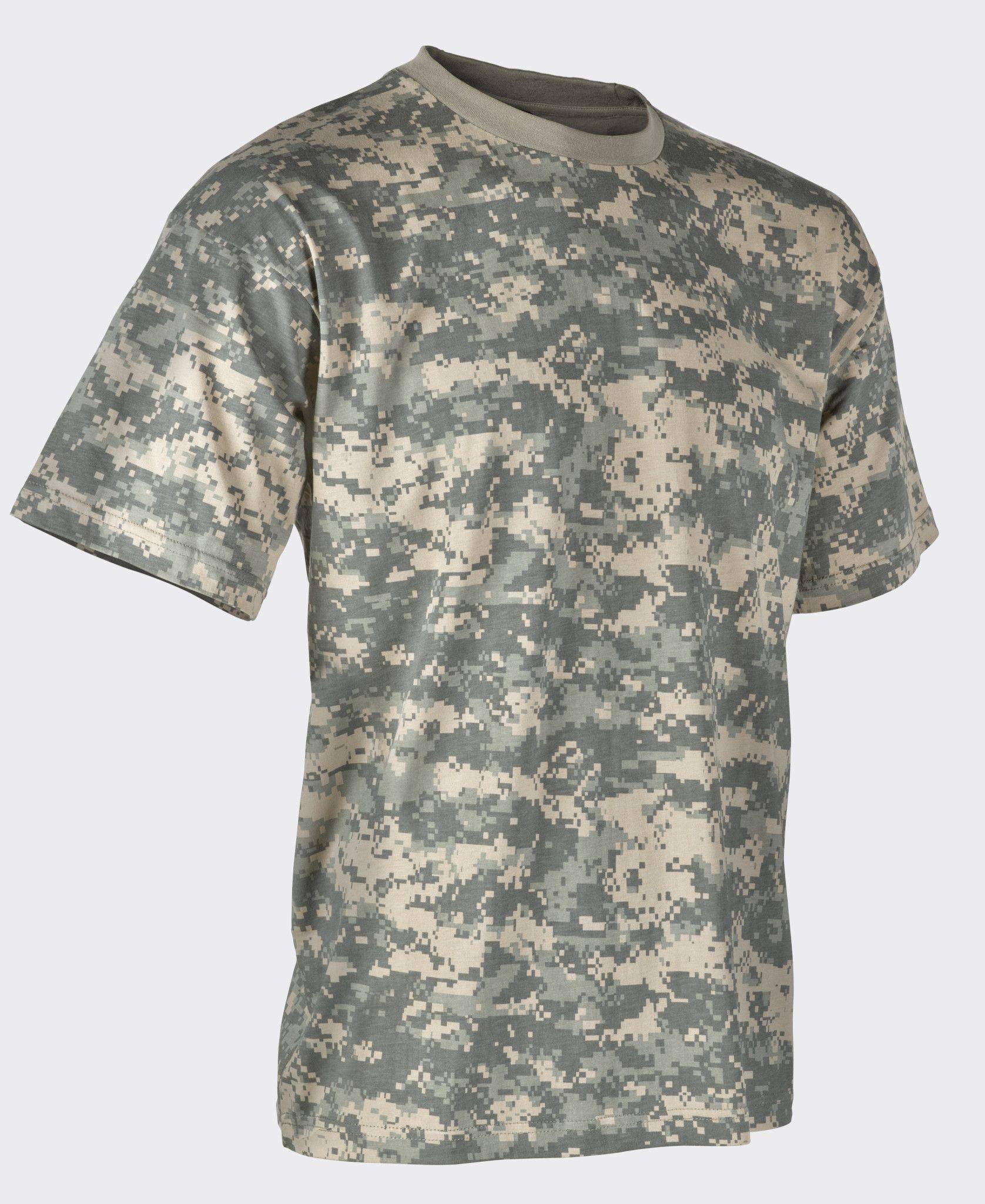 bc595d621e9e Helikon Men'sCotton US Army Camo T-Shirt – UCP ACU | Airsoft ...