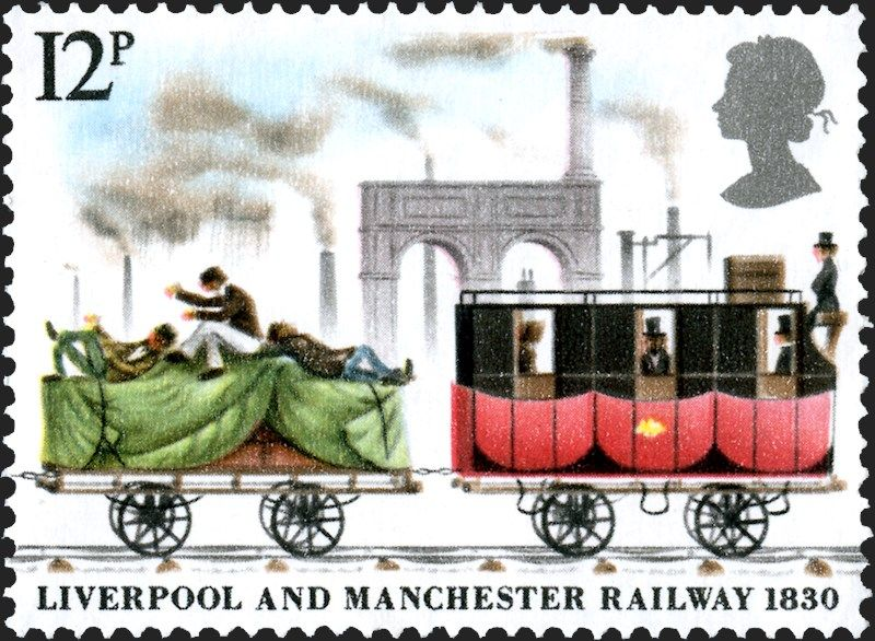 Marking the 150th anniversary of Liverpool and Manchester Railwa