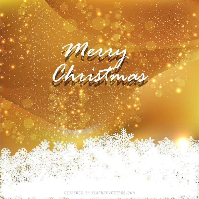 Orange Christmas Background Image